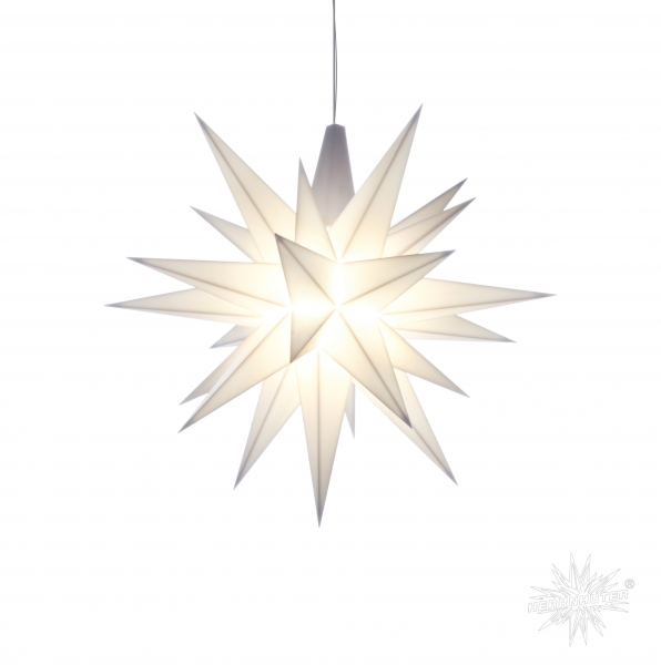Stern A1e, 13 cm, weiß