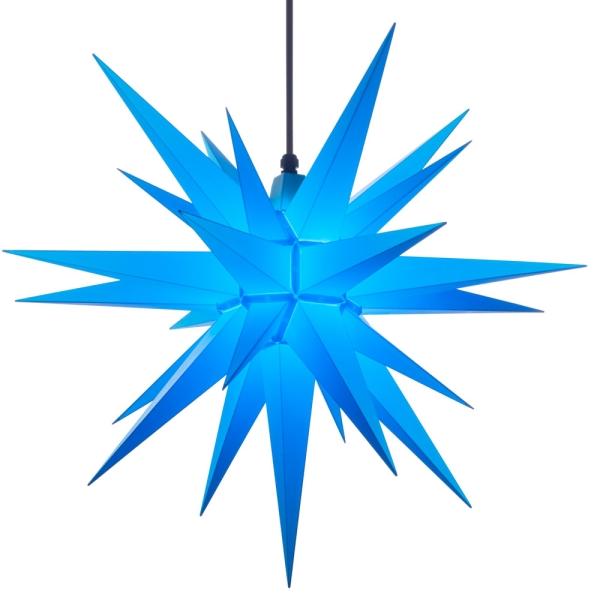 Stern A7, blau, 68 cm